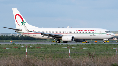 A picture of CNROC - Boeing 7378B6 - Royal Air Maroc - © Marcello Montagna spotter_napoli
