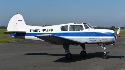 F-WRYL - Yakovlev Yak-18T - Private