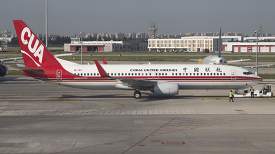 A picture of B1311 - Boeing 73789P - China United Airlines - © DS20020221