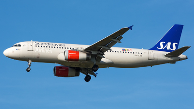 OY-KAS - Airbus A320-232 - Scandinavian Airlines (SAS)