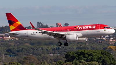 PR-ONW - Airbus A320-214 - Avianca Brasil