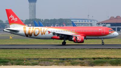 PK-AXS - Airbus A320-216 - Indonesia AirAsia