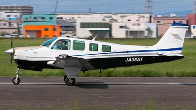 A picture of JA36AT - Beech 36 Bonanza - [E2976] - © cunetaru