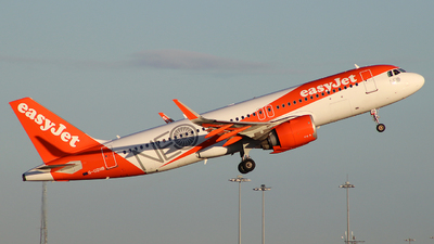A picture of GUZHB - Airbus A320251N - easyJet - © BrierleyAviation