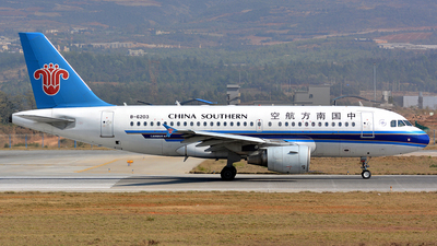 B-6203 - Airbus A319-115 - China Southern Airlines