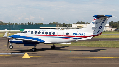 VH-VPX - Beechcraft B300 King Air 350i - Royal Flying Doctor Service of Australia (SE Section)