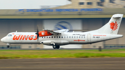 PK-WGP - ATR 72-212A(600) - Wings Air
