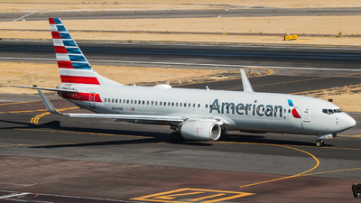 A picture of N806NN - Boeing 737823 - American Airlines - © Hector Montes de Oca