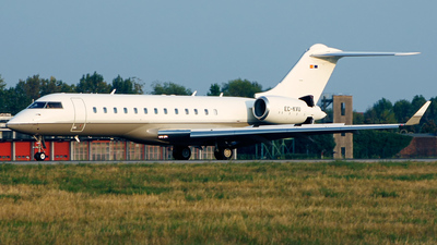 EC-KVU - Bombardier BD-700-1A10 Global Express - TAG Aviation España