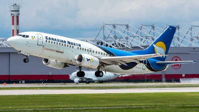 C-GZCN - Boeing 737-36N(QC) - Canadian North