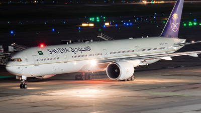 A picture of HZAK24 - Boeing 777368(ER) - Saudia - © Positive Rate Photography