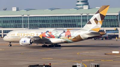 A6-APG - Airbus A380-861 - Etihad Airways