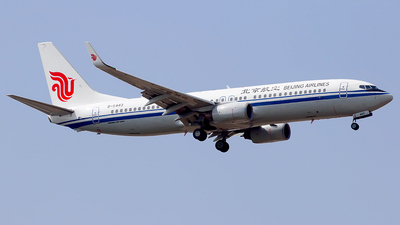 B-5443 - Boeing 737-89L - Beijing Airlines