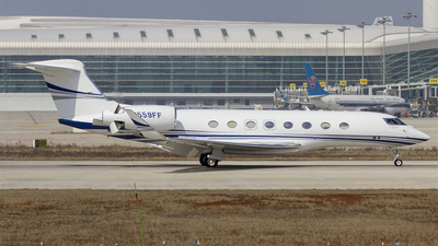N559FF - Gulfstream G650ER - Private