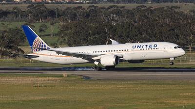 N27957 - Boeing 787-9 Dreamliner - United Airlines