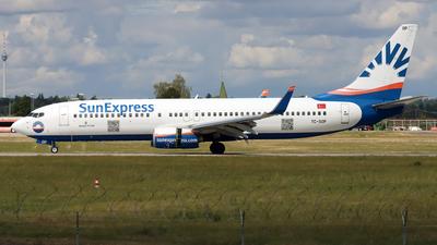 A picture of TCSOP - Boeing 7378AS - SunExpress - © Eddie Heisterkamp