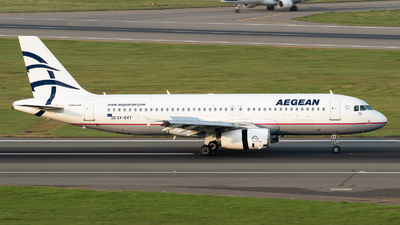 A picture of SXDVT - Airbus A320232 - Aegean Airlines - © RAFAL KUKOWSKI