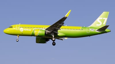 F-WWDC - Airbus A320-271N - S7 Airlines