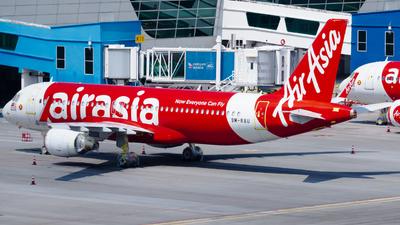 9M-RAU - Airbus A320-216 - AirAsia