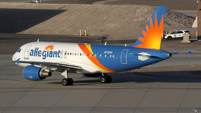 N312NV - Airbus A319-111 - Allegiant Air
