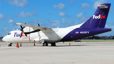 N920FX - ATR 42-300(F) - FedEx Feeder (Mountain Air Cargo)