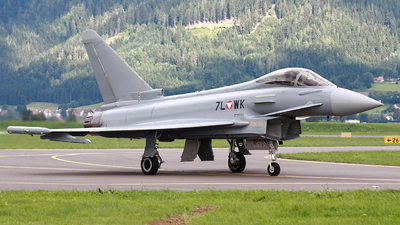 7L-WK - Eurofighter Typhoon EF2000 - Austria - Air Force