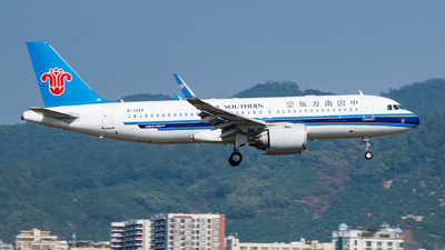 A picture of B30AA - Airbus A320251N - China Southern Airlines - © George Ma