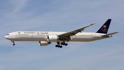 HZ-AK27 - Boeing 777-368ER - Saudi Arabian Airlines