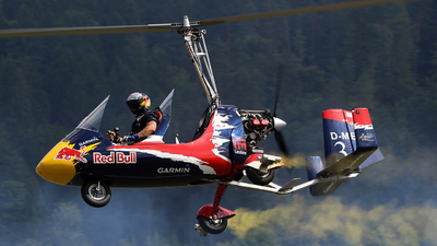 D-MECH - AutoGyro Europe MT-03 Eagle - Red Bull Rotorwings