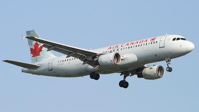 C-FGJI - Airbus A320-214 - Air Canada