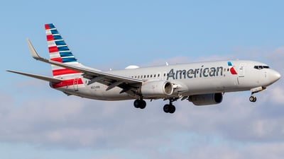 A picture of N834NN - Boeing 737823 - American Airlines - © Nelson Mejia