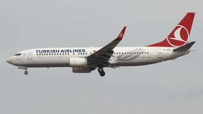 TC-JFK - Boeing 737-8F2 - Turkish Airlines