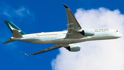 A picture of BLRV - Airbus A350941 - Cathay Pacific - © Chow Kin Hei