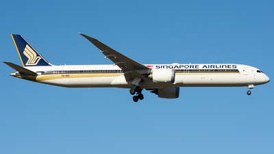 9V-SCI - Boeing 787-10 Dreamliner - Singapore Airlines