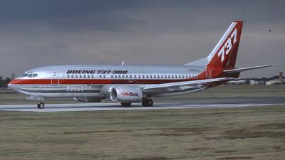 N352AU - Boeing 737-3B7 - Boeing Company