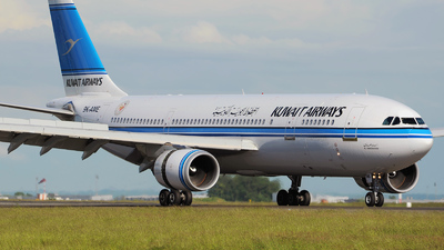 9K-AME - Airbus A300B4-605R - Kuwait Airways