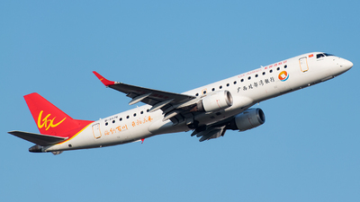 B-3176 - Embraer 190-100LR - GX Airlines