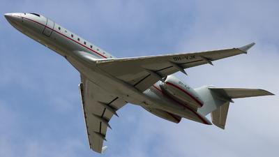 9H-VJK - Bombardier BD-700-1A10 Global 6000 - VistaJet