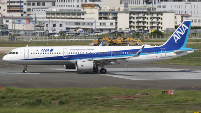 A picture of JA137A - Airbus A321272N - All Nippon Airways - © Oryo427