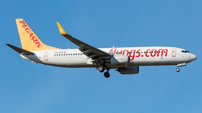 A picture of TCCPE - Boeing 73782R - Pegasus Airlines - © Kurt Greul