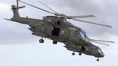 ZJ123 - Agusta-Westland Merlin HC.3 - United Kingdom - Royal Navy
