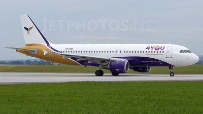 UR-CME - Airbus A320-212 - 4You Airlines (YanAir)