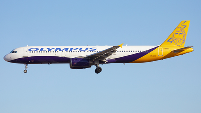 SX-ABY - Airbus A321-231 - Olympus Airways