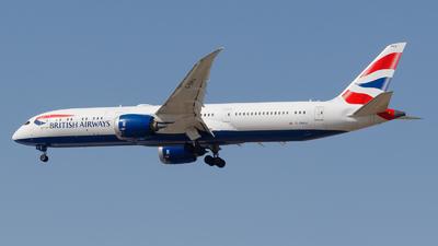A picture of GZBKA - Boeing 7879 Dreamliner - British Airways - © Eyal Zarrad