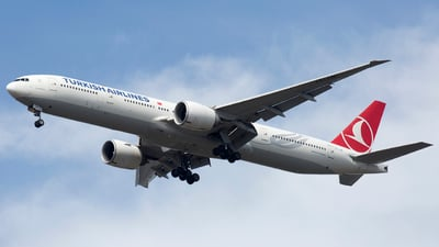 A picture of TCJJE - Boeing 7773F2(ER) - Turkish Airlines - © Akbarali Mastan
