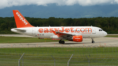 HB-JZW - Airbus A319-111 - easyJet Switzerland
