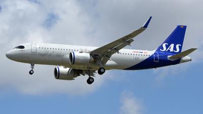 D-AXAC - Airbus A320-251N - Scandinavian Airlines (SAS)