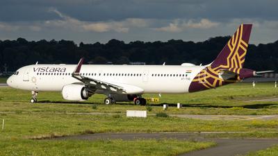 VT-TVD - Airbus A321-251NX - Vistara