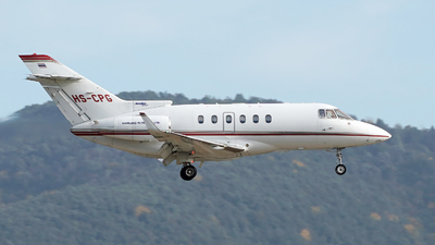 HS-CPG - Raytheon Hawker 850XP - Private