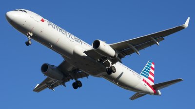 N138AN - Airbus A321-231 - American Airlines